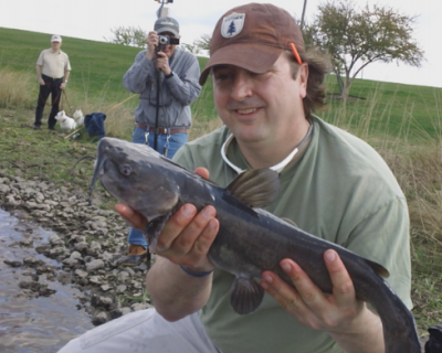John Wilkins did not break the world record for most fish caught in 24 hours, but still came in above the 2,000 mark.