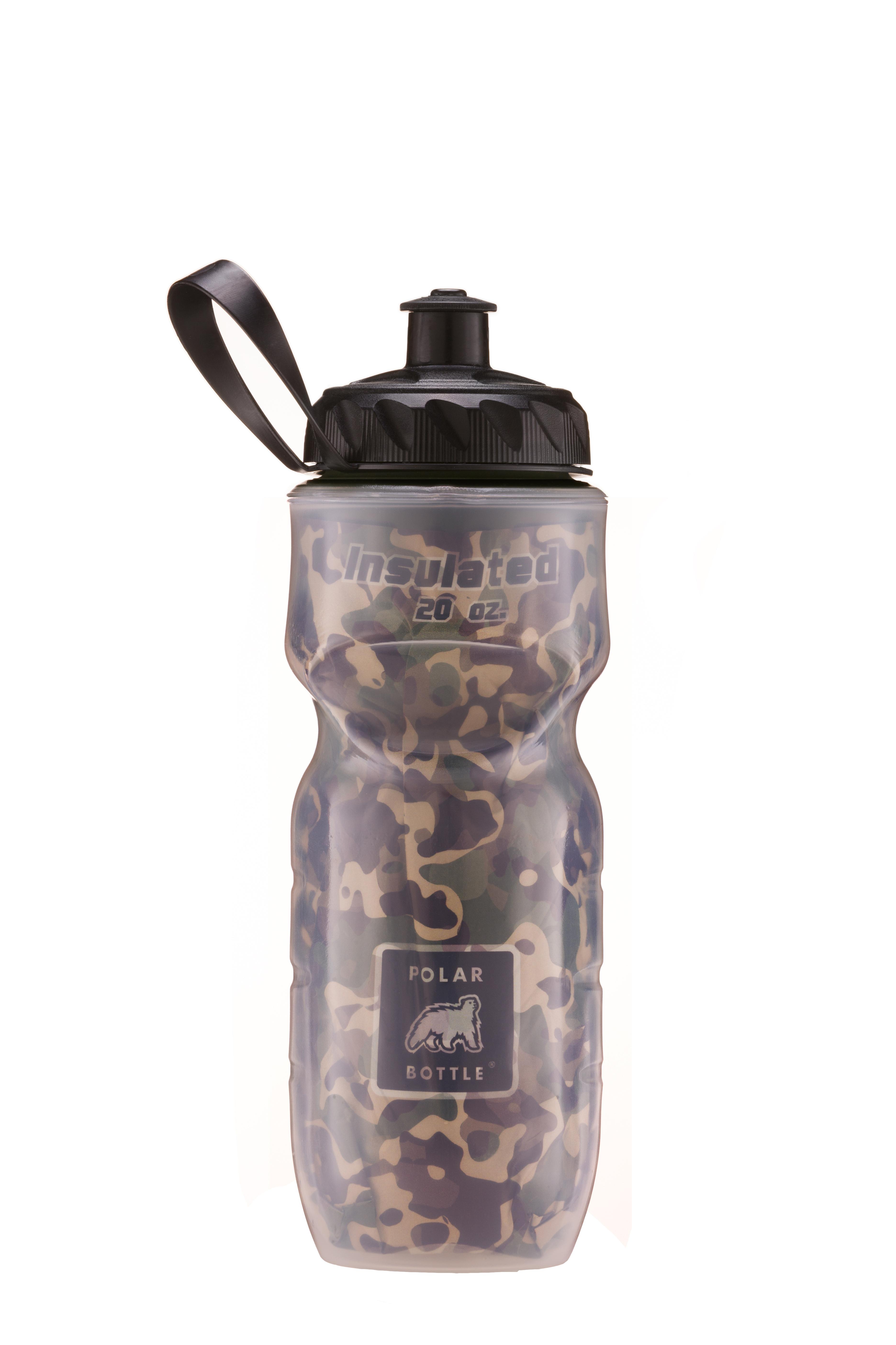 Polar Bottle Debuts New And Improved Camo Bottle Design