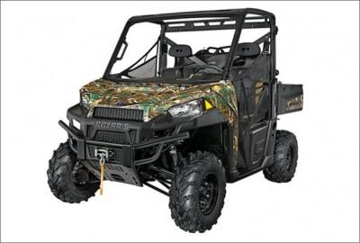 Field & Stream name Polaris Ranger XP 900 best ATV of 2013.