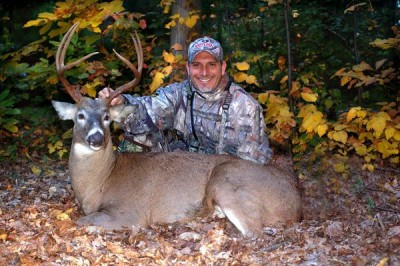 Mike Monteleone enjoys hunting for big bucks on small, exclusive properties.