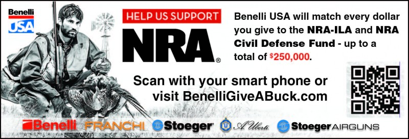 Benelli Give A Buck PR
