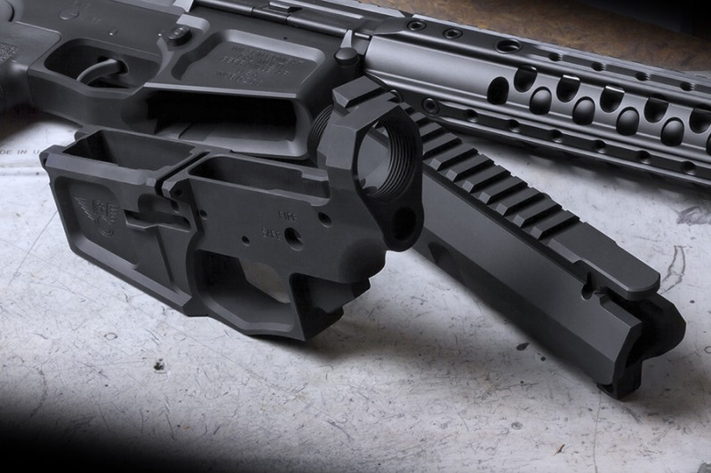 BILLet-AR upper and lower receiver for the ultimate precision tactical AR-15 rifle.