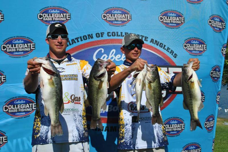 Cabela 39 s collegiate bass fishing series to air on for College bass fishing