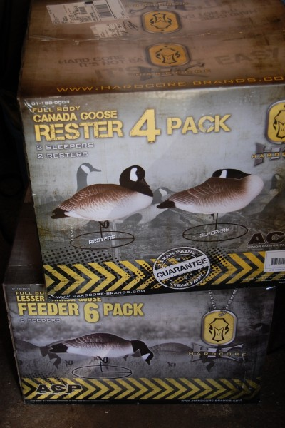 One of the best things to do to get ready for the season? Buy new Hard Core Decoys, of course!