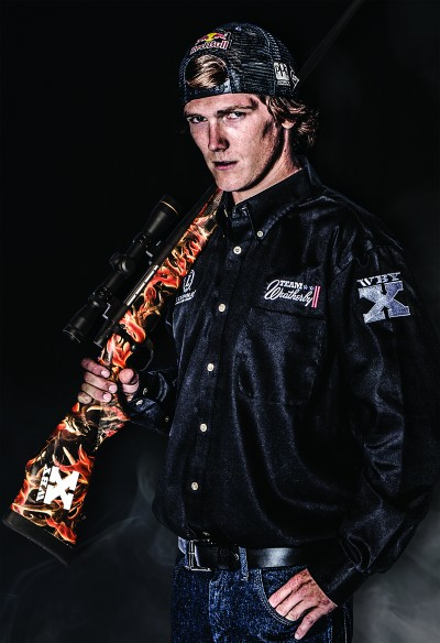 Jessy Nelson, professional motocross rider, has been added to team Weatherby.