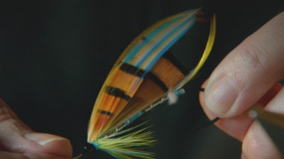 The film is based on the story of Megan Boyd, a Scottish fly-tier whose flies were a work of art.