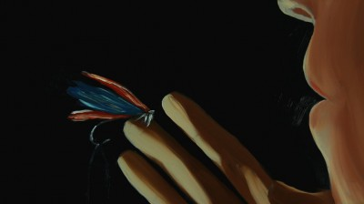 The film features hand-painted animation by Em Cooper.