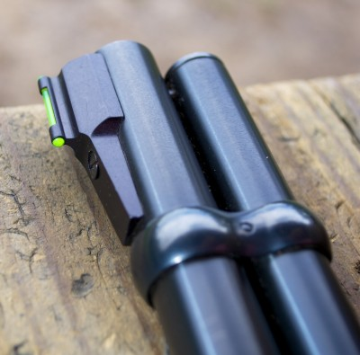 One of the modern additions is the TruGlo fiber-optic front sight. It works like a champ!