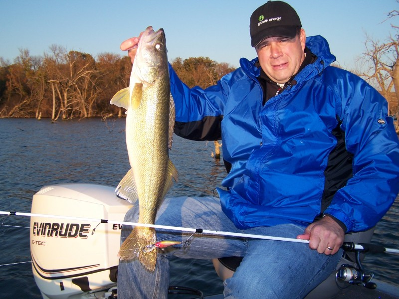 If you live near a river that has walleyes, the next few weeks will provide some outstanding fish-catching opportunities.