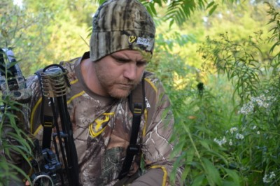 Trailing a deer can lead the hunter into sacred ground. Be sure to remain scent-free.