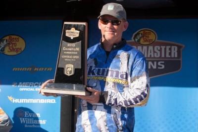 On the co-angler side, David Padgett of Nebraska took home the trophy.