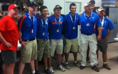 The University of Florida Pistol team.