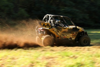 Team Hendershot Performance / Can-Am drove their No. 44 Maverick 1000R to victory and the class points lead at the recent AWRCS race in Pennsylvania.