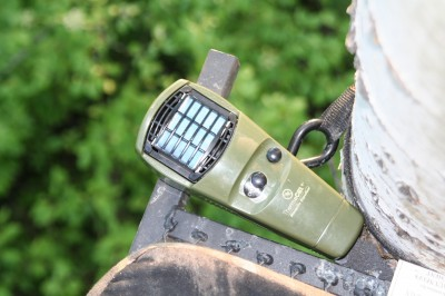 A ThermaCELL has totally changed hot-weather hunting when insects are a problem. These things really work and I never leave home without one during early season hunts.