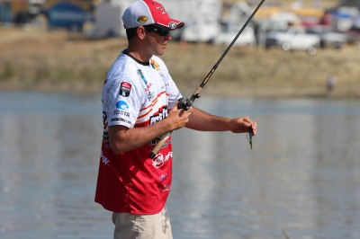 There are three main baits I recommend when fishing brush piles: a ribbon-tailed worm, a jig, and a crankbait.