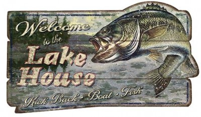 Cool products can carry custom outdoor messages, like this outdoor sign.