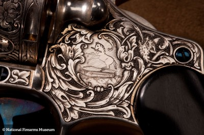 The Francolini engraving is fantastic. Note the Colt with a serious attitude.