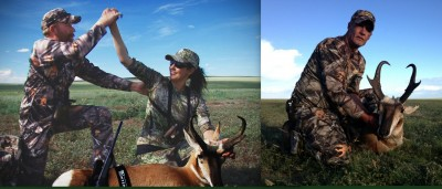 Our trip began well enough, with two successful pronghorn harvests.