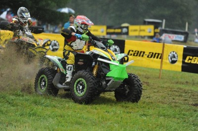 Renegade 800R ATV pilot Rob Smith (BNR Motorsports / Can-Am) won the U2 class at The Car-Mate Gusher, earning his fifth victory of the year and regaining the class points lead with two rounds remaining.