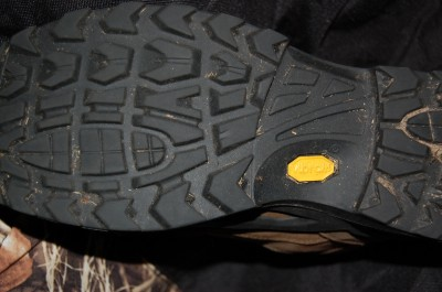 The Vibram soles are tough and offer a lot of traction on just about any terrain you might traverse.