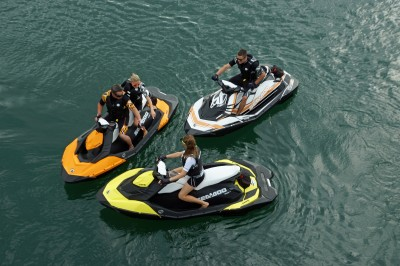 The Spark is offered in a variety of colors and two different hull sizes.