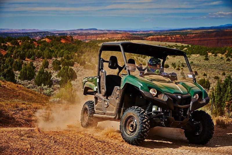 Yamaha's new Viking side-by-side is a solid workhorse that was designed and built to run and work for a long time. If durability and dependability are concerns for you, take a look at the Viking.