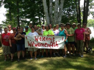Some events hosted by WI Women Fish are free and teach basic skills about fishing and boat ownership and maintenance. The events and the camaraderie give their members confidence to get out and catch some fish.