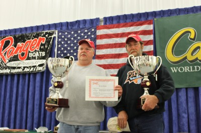 William Rhodes of Cedar Grove, Tennessee and James Dameron of Humboldt, Tennessee won the amateur division with a 2-day total weight of 19.49 pounds.
