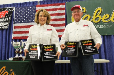Henry and Jo Haley came in second with a 2-day total of 19.58 pounds.