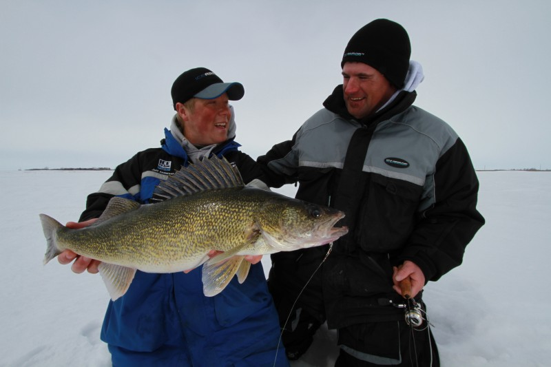 Take some time in the fall to locate schools of fish that will be big producers come ice-up.