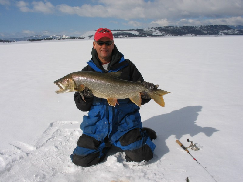 Ice Team Pro Bernie Keefe has a set routine he goes through every October to get his gear ready for ice fishing season.