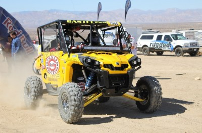 Production 1000 Pro class racer Logan Gastel finished third in his class in a Can-Am Commander at the PURE 250.