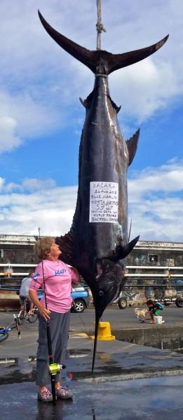 Carter's Atlantic blue marlin