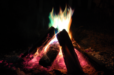 Take waterproof matches or a good lighter with you in case you need to build a fire and warm up.