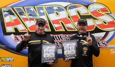 With the Can-Am Maverick 1000R side-by-side, Larry Hendershot Jr. and his father, Larry Sr., recorded four wins - one a double-point victory- during their AWRCS championship run.