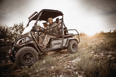 Realtree hunting UTVs by Bad Boy Buggies.