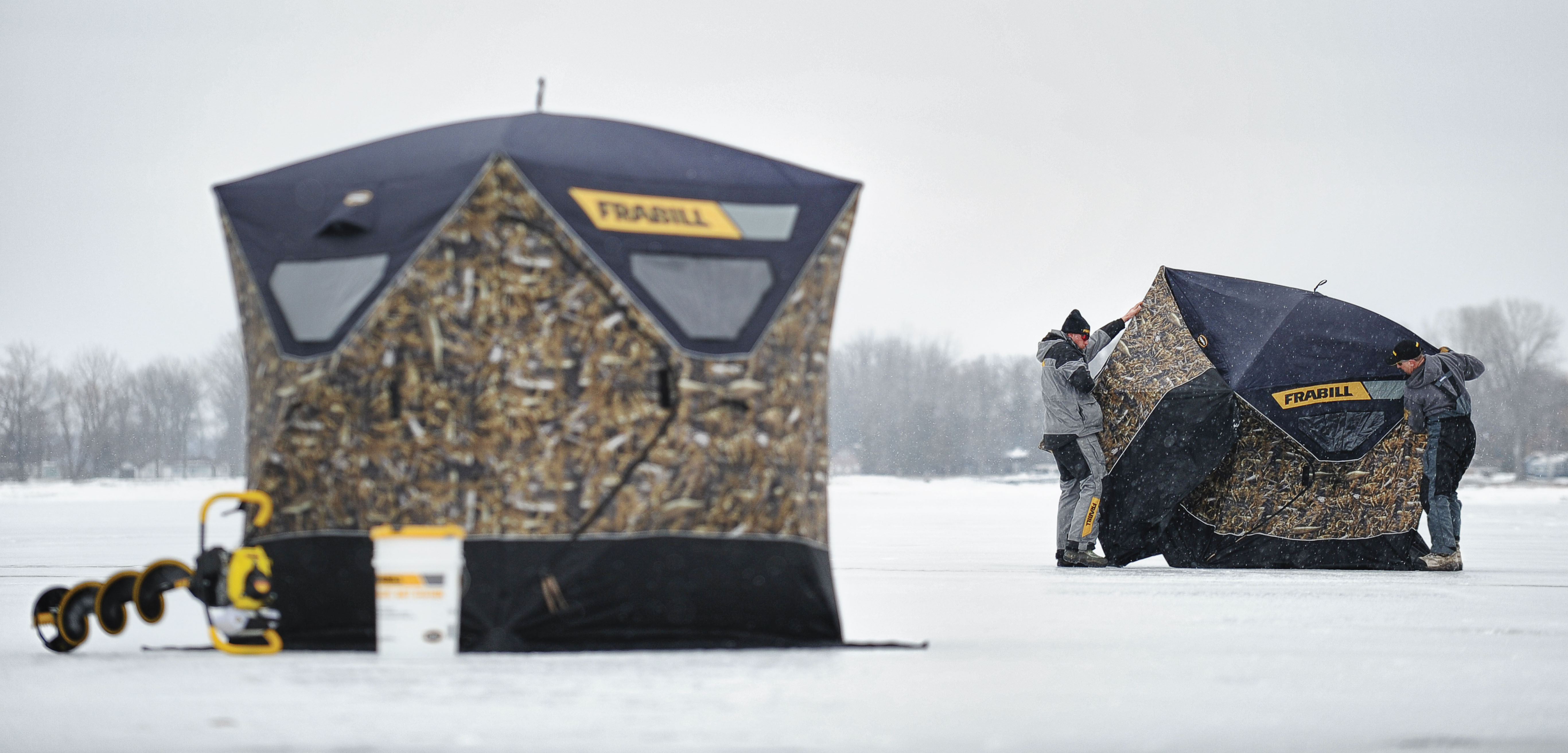 Ice Fishing's Best Hub Shelters Now the Hottest Looking | OutdoorHub
