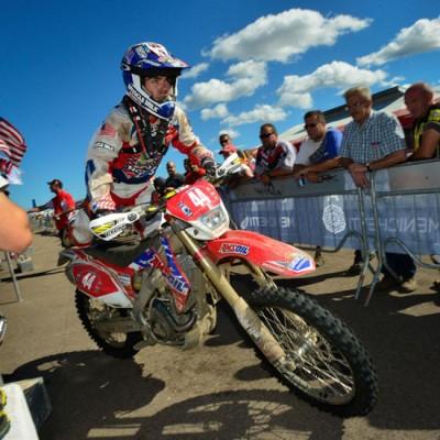 U.S. Trophy Team rider Zach Osborne.