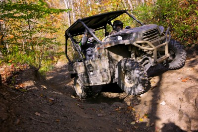 No matter how steep, tight, rocky, or muddy the trail, the 2014 Kawasaki Teryx conquered all with relative ease.