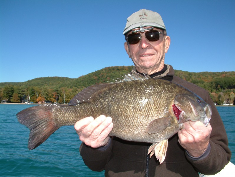 Tumbling water temperatures in autumn can supply some great smallies for the smart angler.