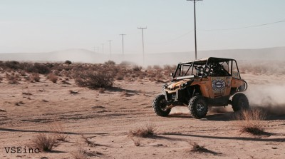 Murray Racing's Logan Gastel captured the Pure series SxS Pro Production 1000 championship by driving his Can-Am Commander 1000 to victory at the Pure 400 in California City, Calif.