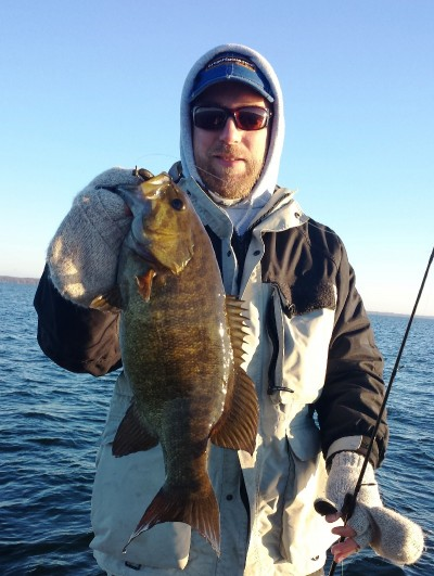 Tournament bass angler Rich Lindgren says he's discovered that the Kompak Craw rigged on a shaky head can significantly out-produce dragging tubes for smallies.