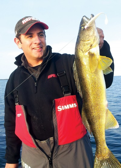 Like any fish destined for the dinner table, this walleye will taste best if it goes straight from the water into the frying pan. Unless you are prepared to cook up a shore lunch, you will need to properly care for your catch to keep it palatable---especially if you plan to freeze the meat for a mid-winter meal.
