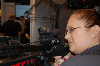 Noted optics manufacturer Trijicon has also released a crossbow-specific sight.