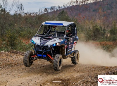 Racer Devon Steedley (Performance East Inc. / Can-Am) took third in his No. 33 Can-Am Maverick 1000R in the QR1 class at round nine of the UTV Rally Raid Northern Series in Tennessee.