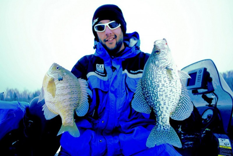 The best ice anglers are antsy---they refuse to sit still.
