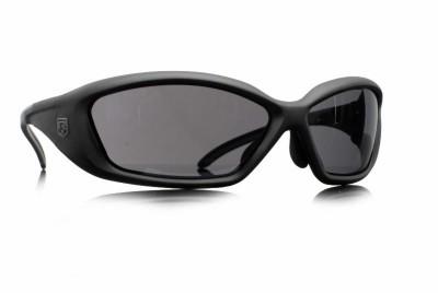 Revision's Hellfly Ballistic Sunglasses in Black/Smoke