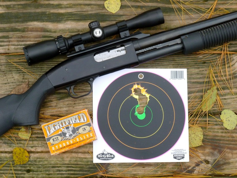 Practice shooting slugs to make sure you can deliver a lethal shot when hunting in the Michigan's southern shotguns-only zone when firearms deer season begins on November 15.