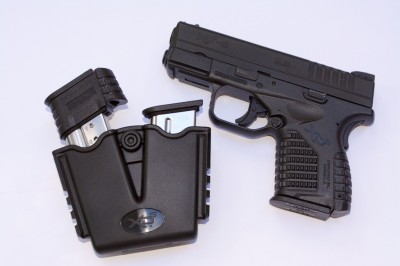 The Springfield Armory XD-S is an excellent carry gun. Better yet, it comes with a hard case, holster and magazine carrier.