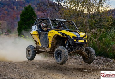 Team AC Racing, competing in a Can-Am Maverick 1000R, finished seventh in the QR1 class at the UTV Rally Raid Northern Series event at Windrock OHV Park in Tennessee.